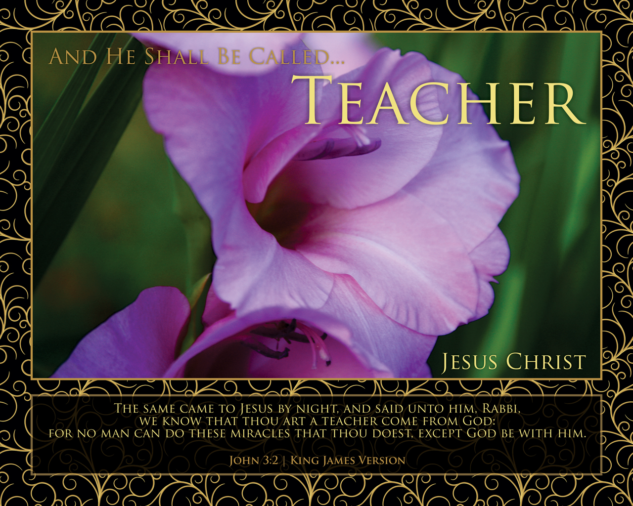 Jesus as the Best Teacher http://delivertheword.com/andheshallbecalled/2011/08/24/teacher/