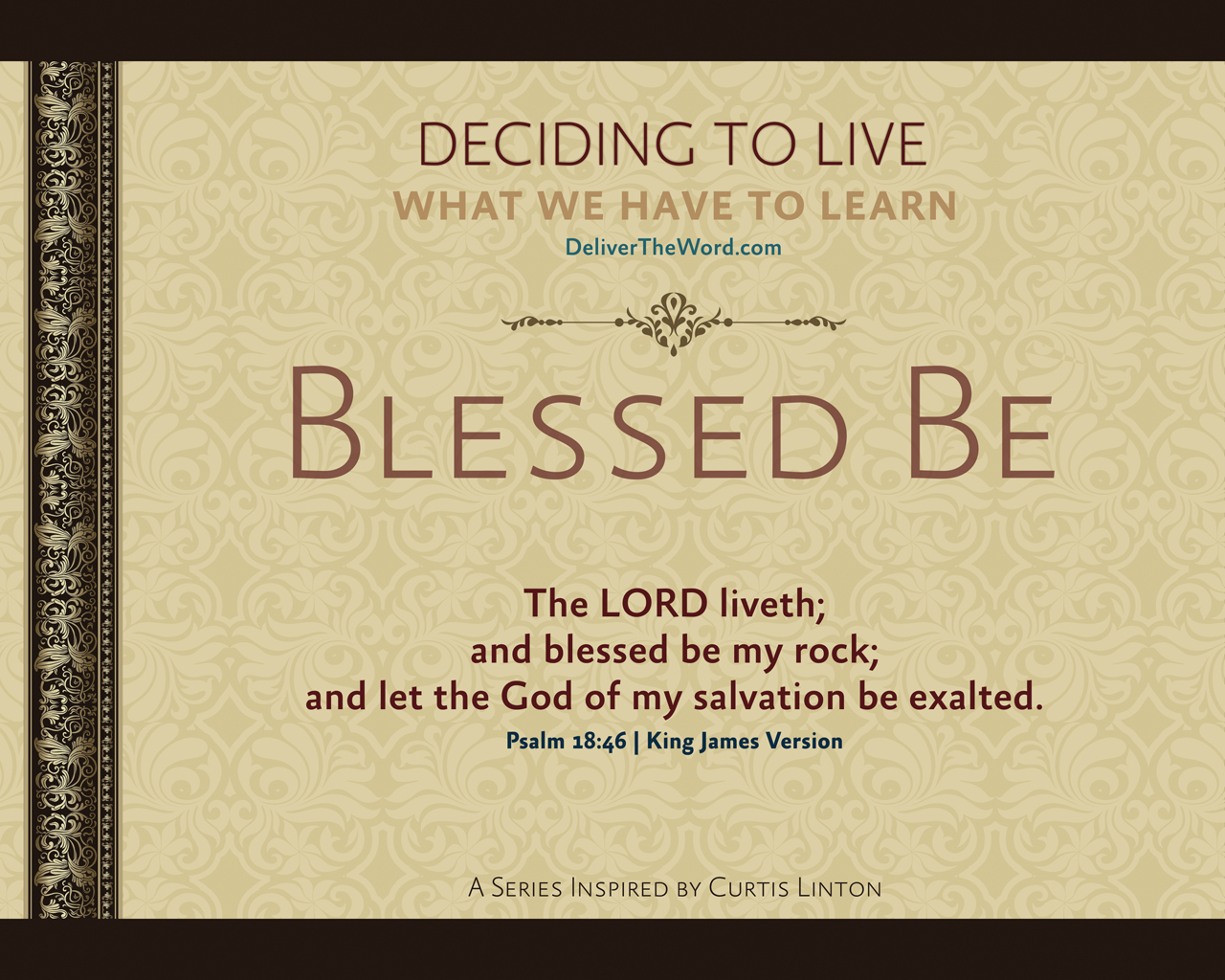Blessed Be – Deciding to Live