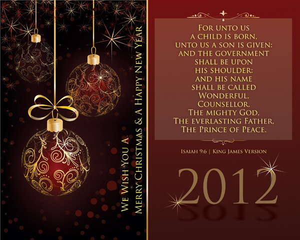 Series two isaiah 9 6 gold dated holiday collection